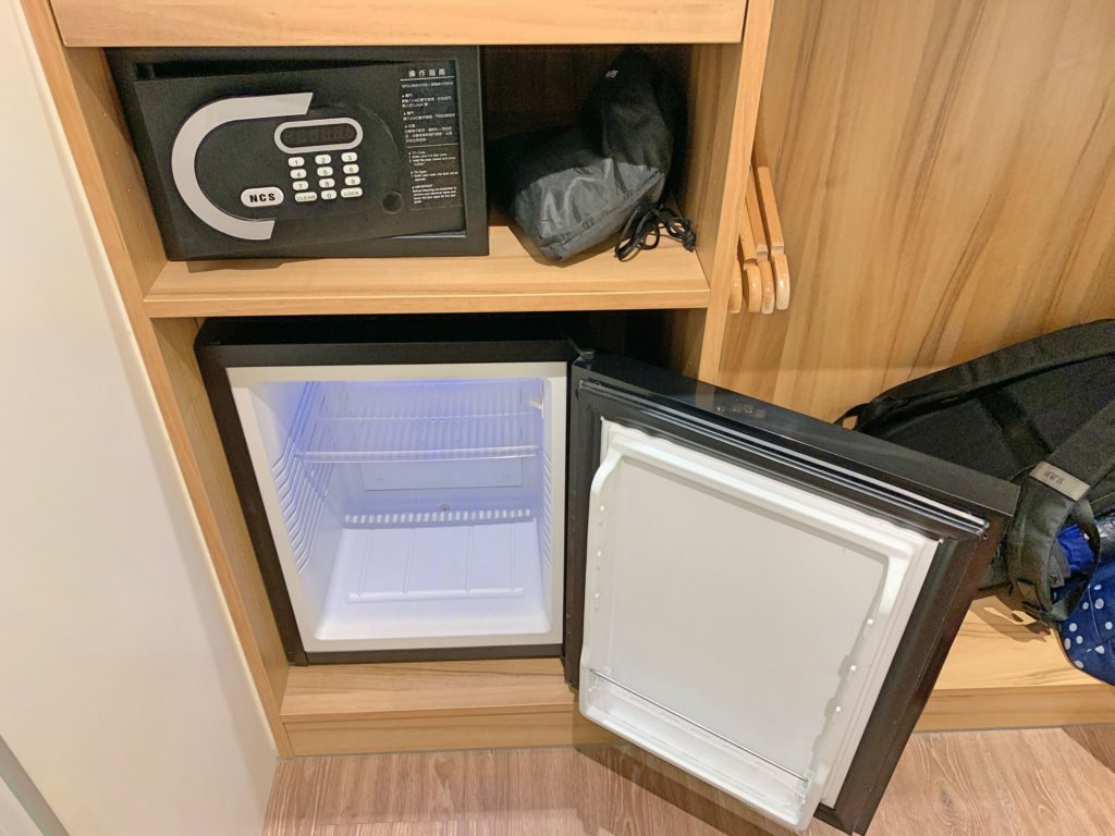 ホテルリラックスの冷蔵庫