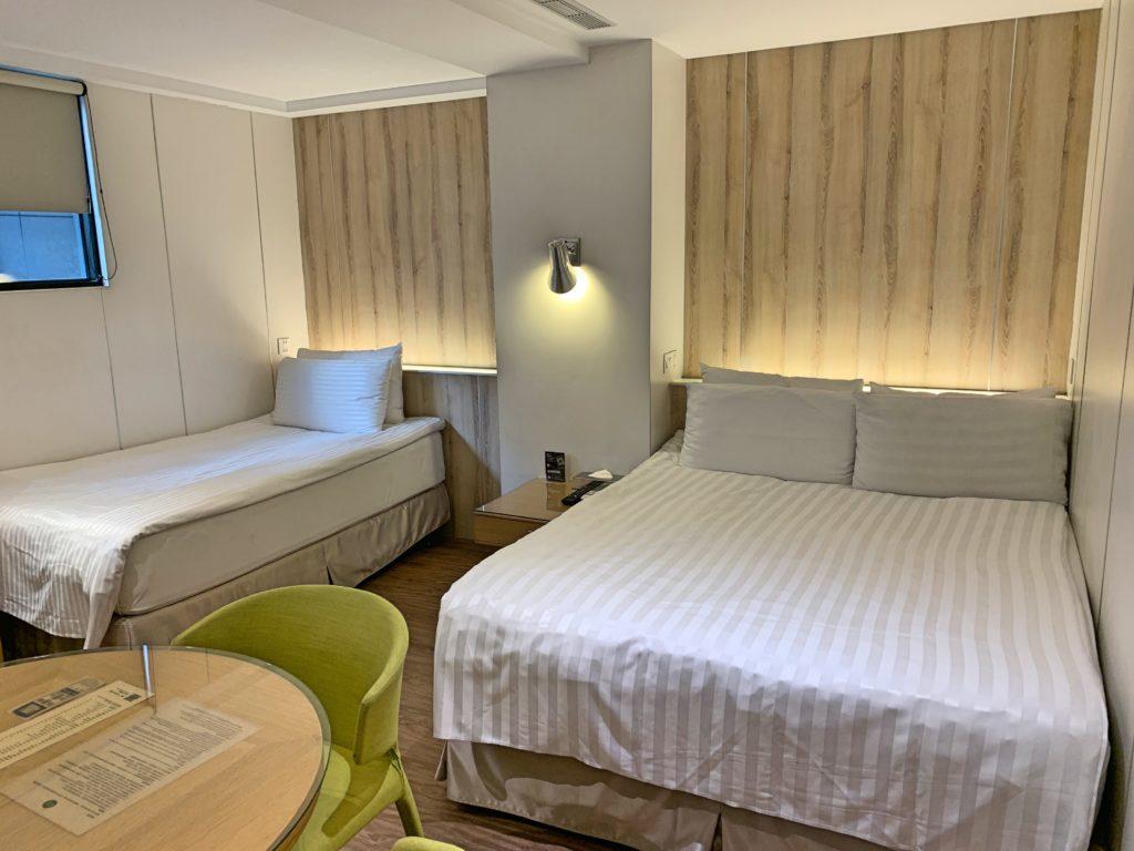 ホテルリラックスの部屋
