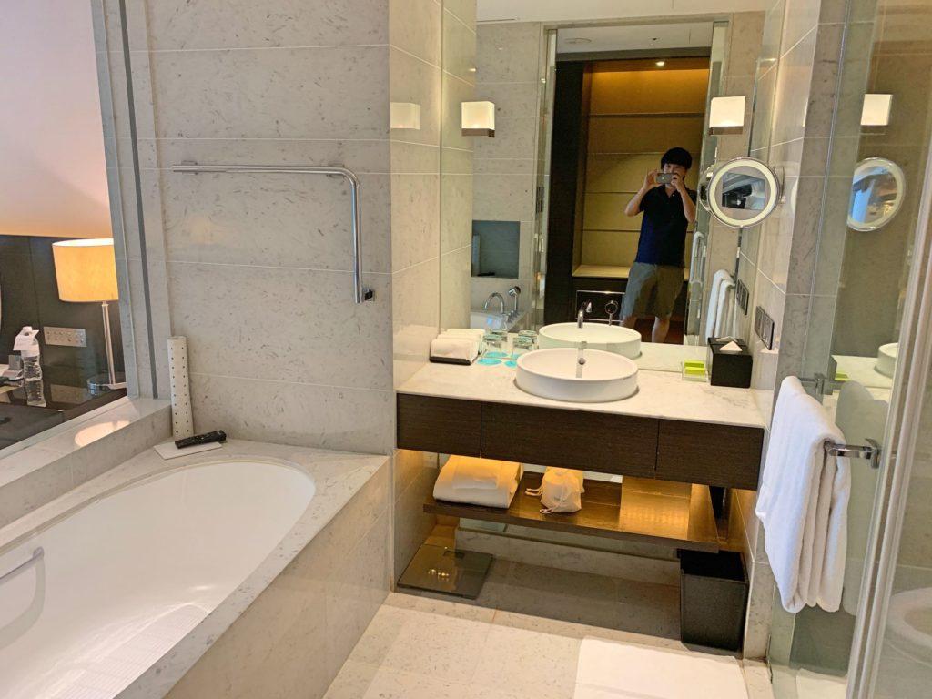 ルメリディアン台北のバスルーム