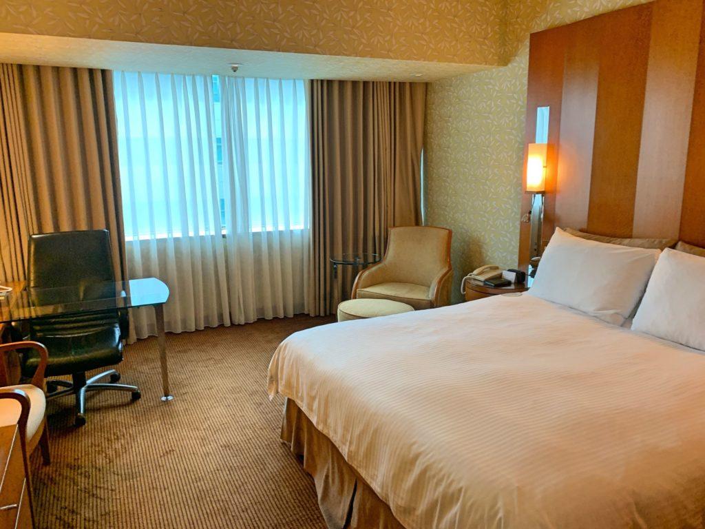 グロリアプリンスホテルの部屋