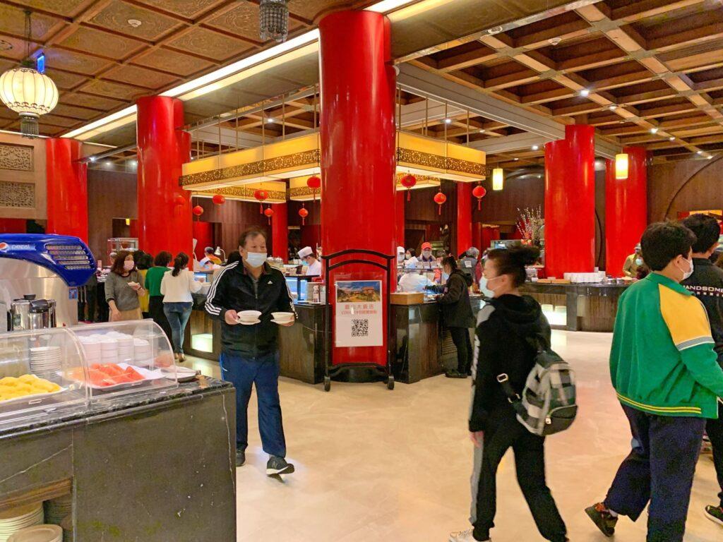 グランドホテル台北のレストラン