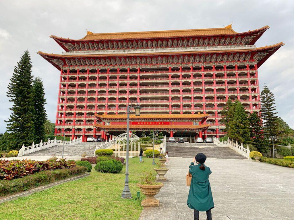 グランドホテル台北の外観