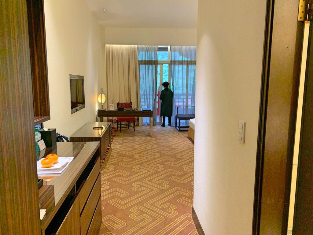 グランドホテル台北の部屋