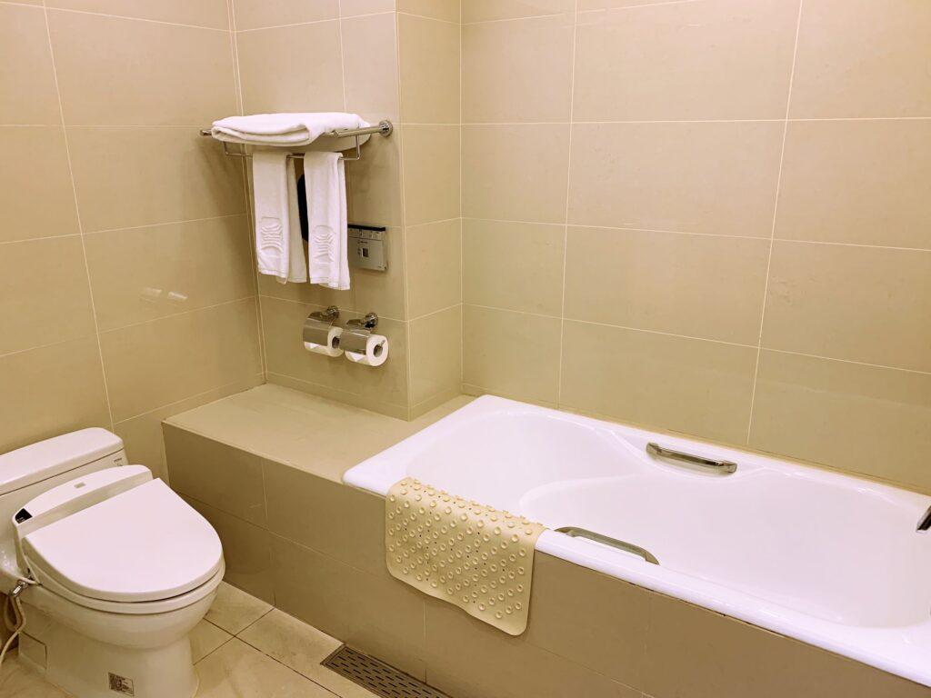 グランドホテル台北のバスルーム