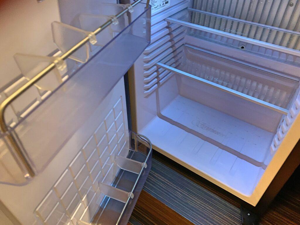 グランドホテル台北の冷蔵庫