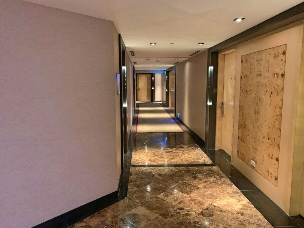 グランドハイアット台北の廊下