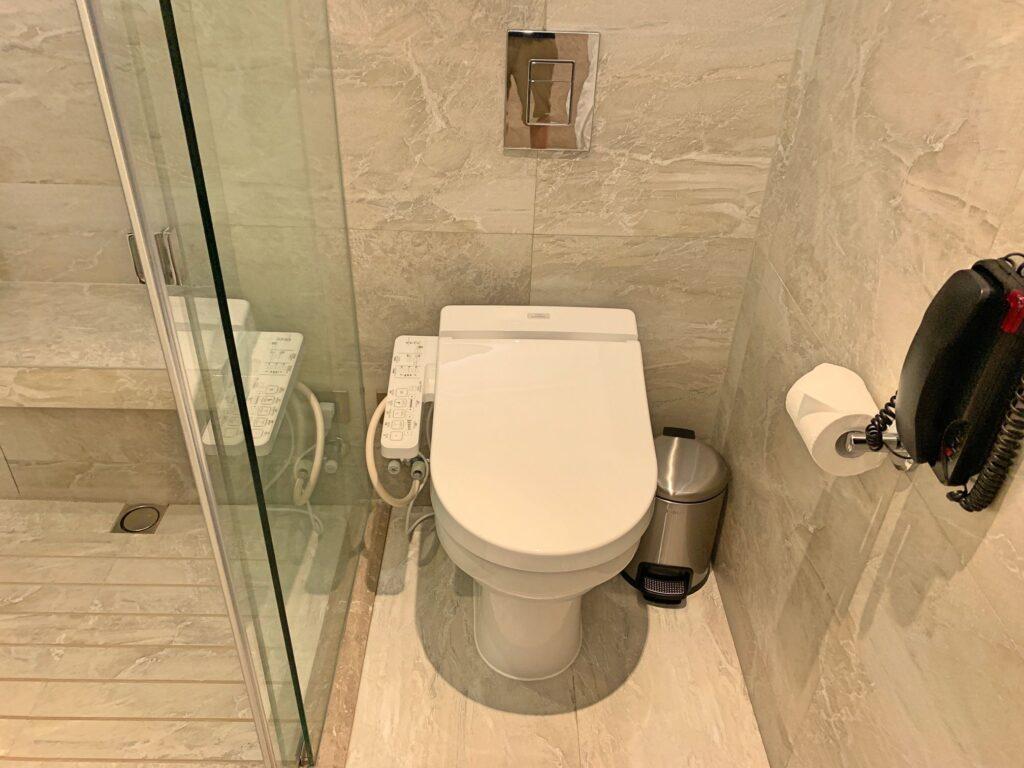 グランドハイアット台北のトイレ