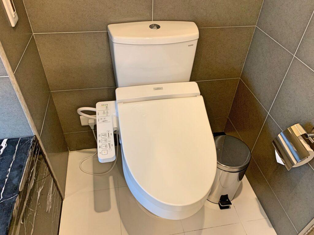 ジョリーホテルのトイレ