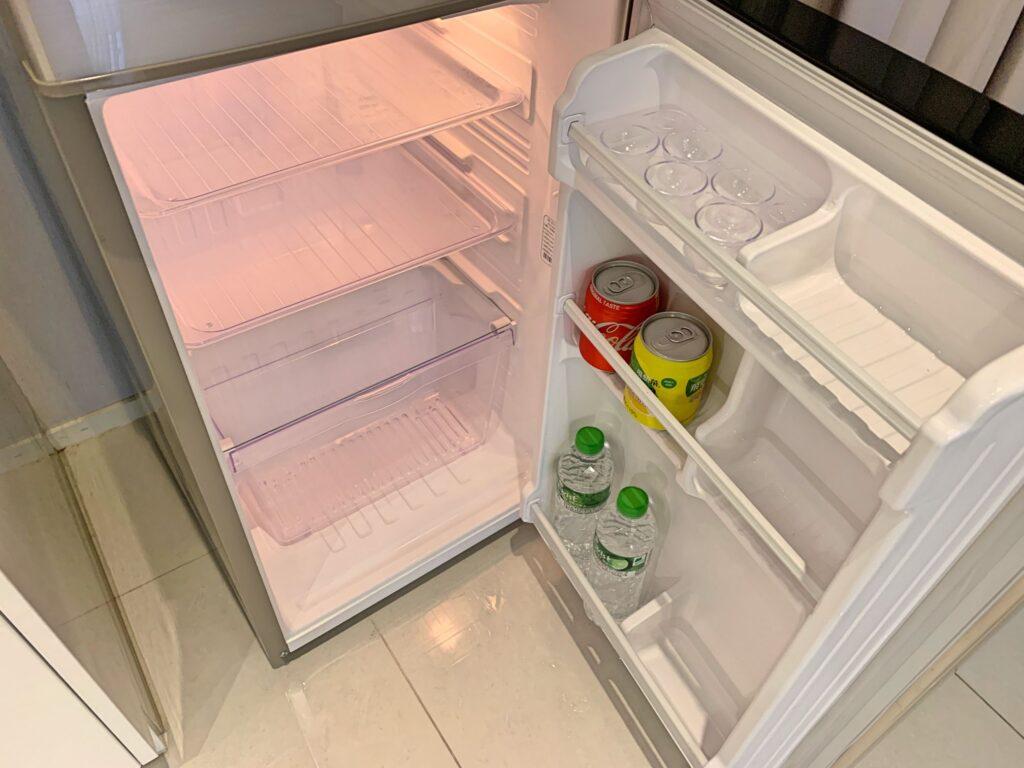 ジョリーホテルの冷蔵庫