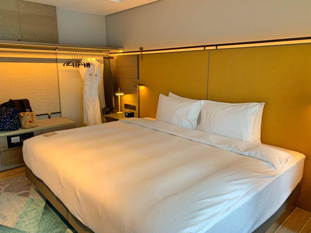 ホテルレゾナンス台北のベット