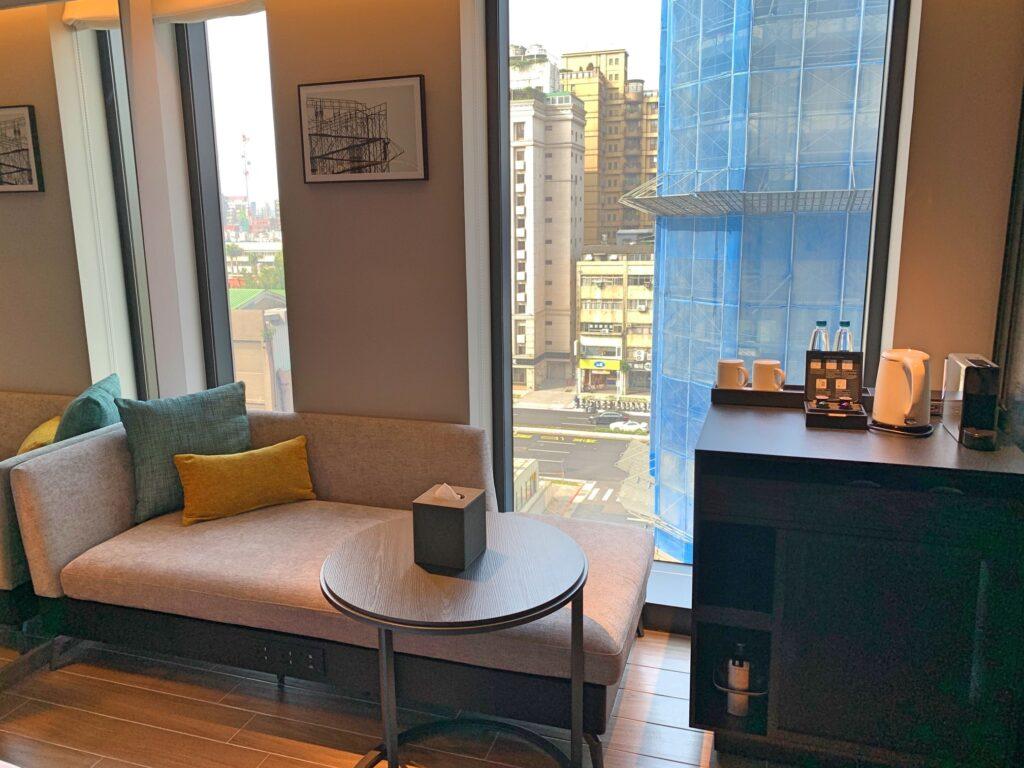 ホテルレゾナンス台北の部屋