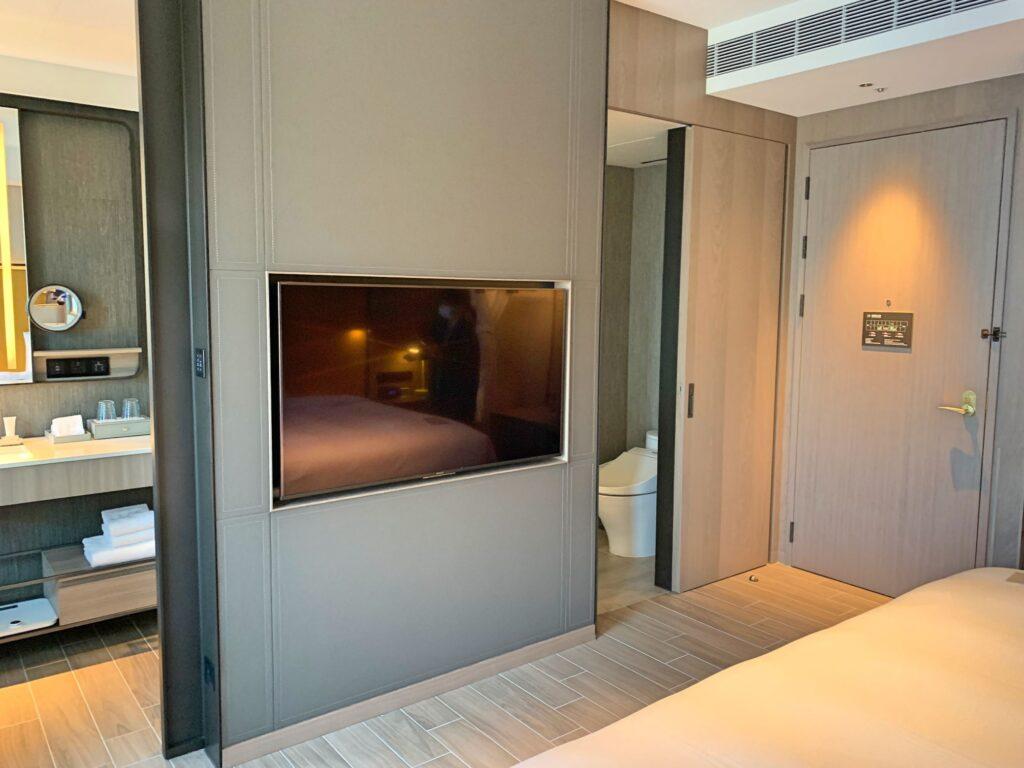 ホテルレゾナンス台北のテレビ