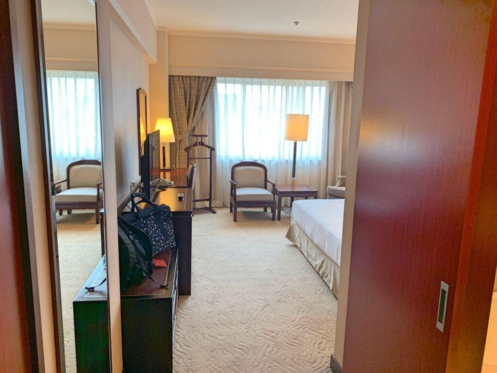 ハワードプラザ台北の部屋