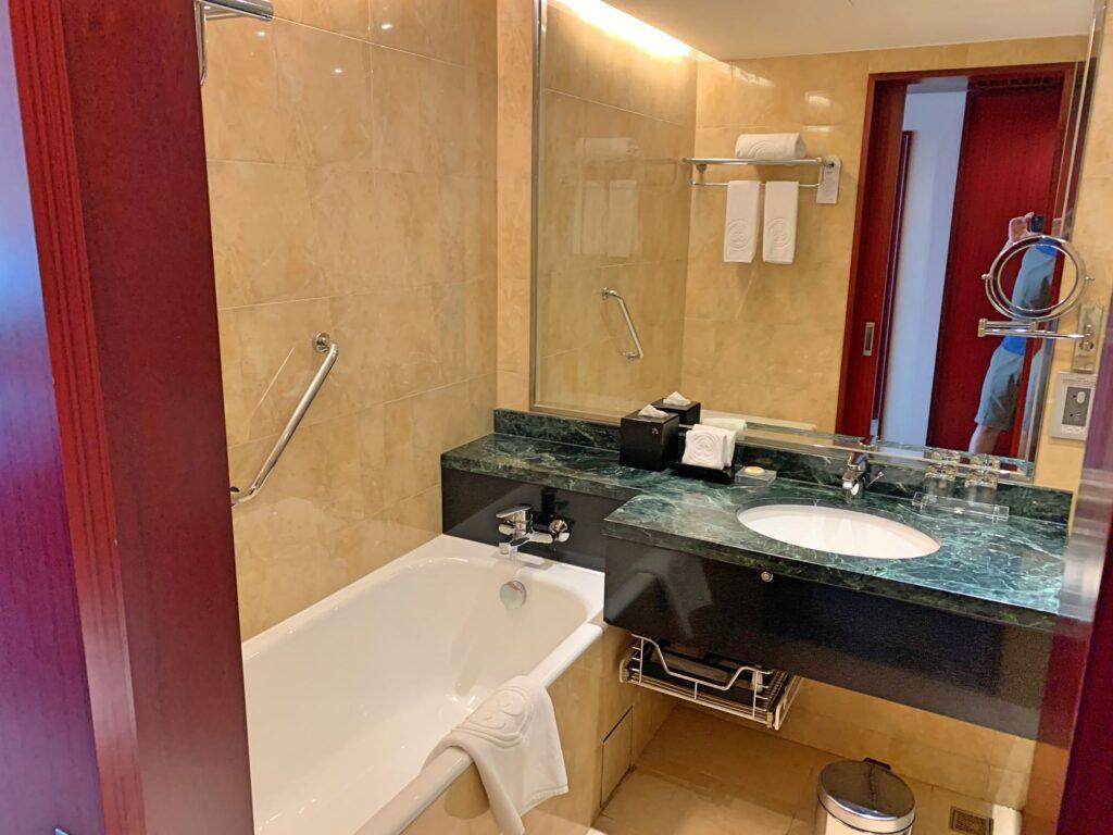 ハワードプラザ台北のバスルーム
