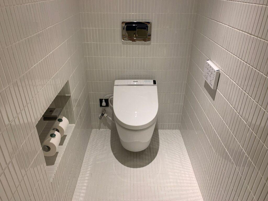 キンプトン大安のトイレ