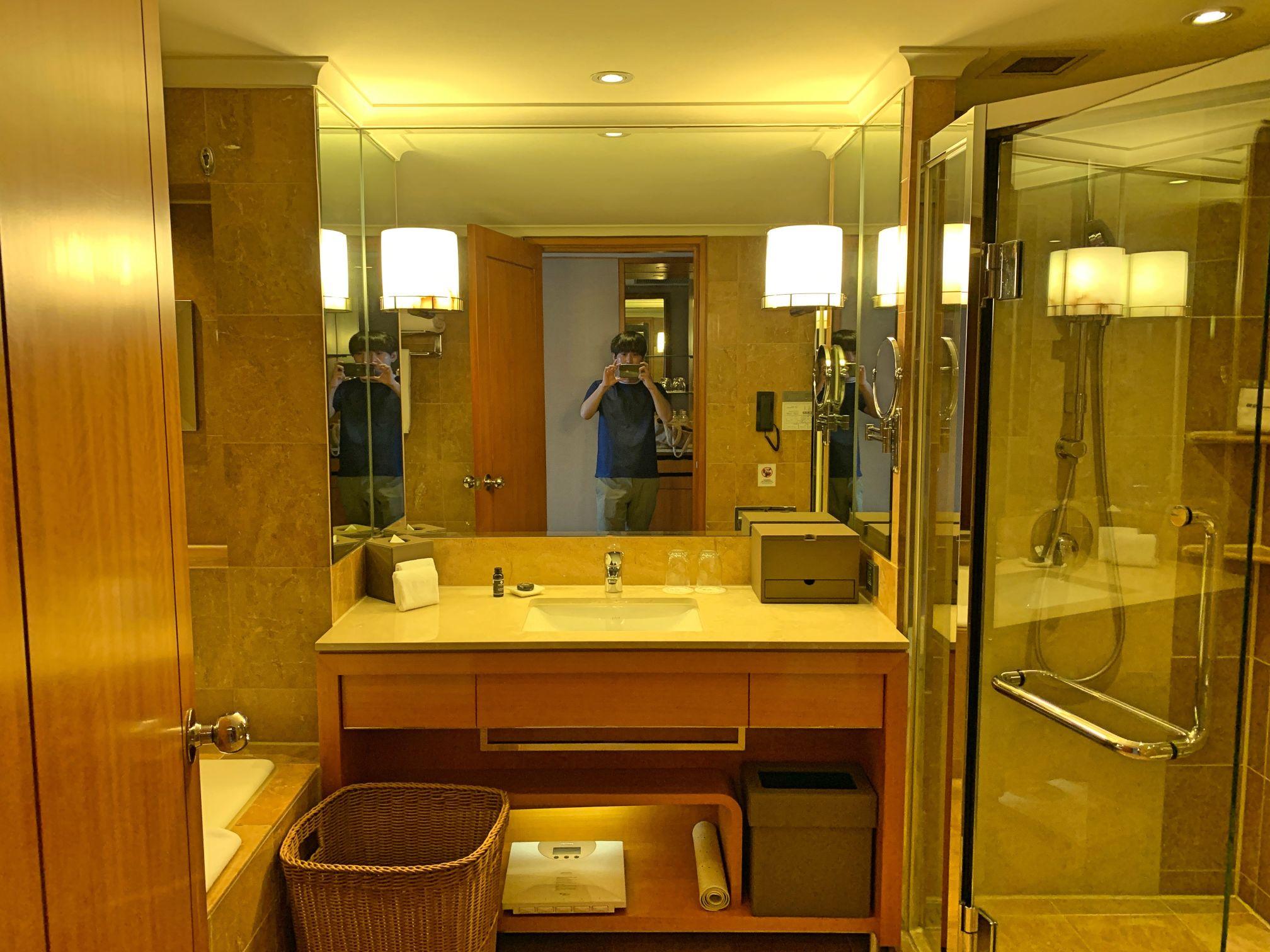 メトロポリタンプレミア台北のバスルーム