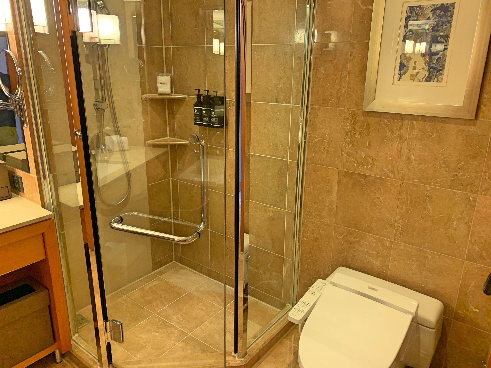 メトロポリタンプレミア台北のトイレ