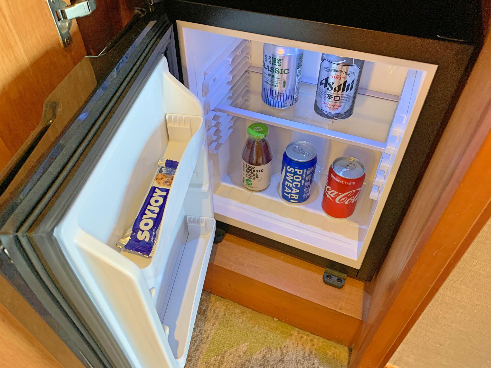 メトロポリタンプレミア台北の冷蔵庫