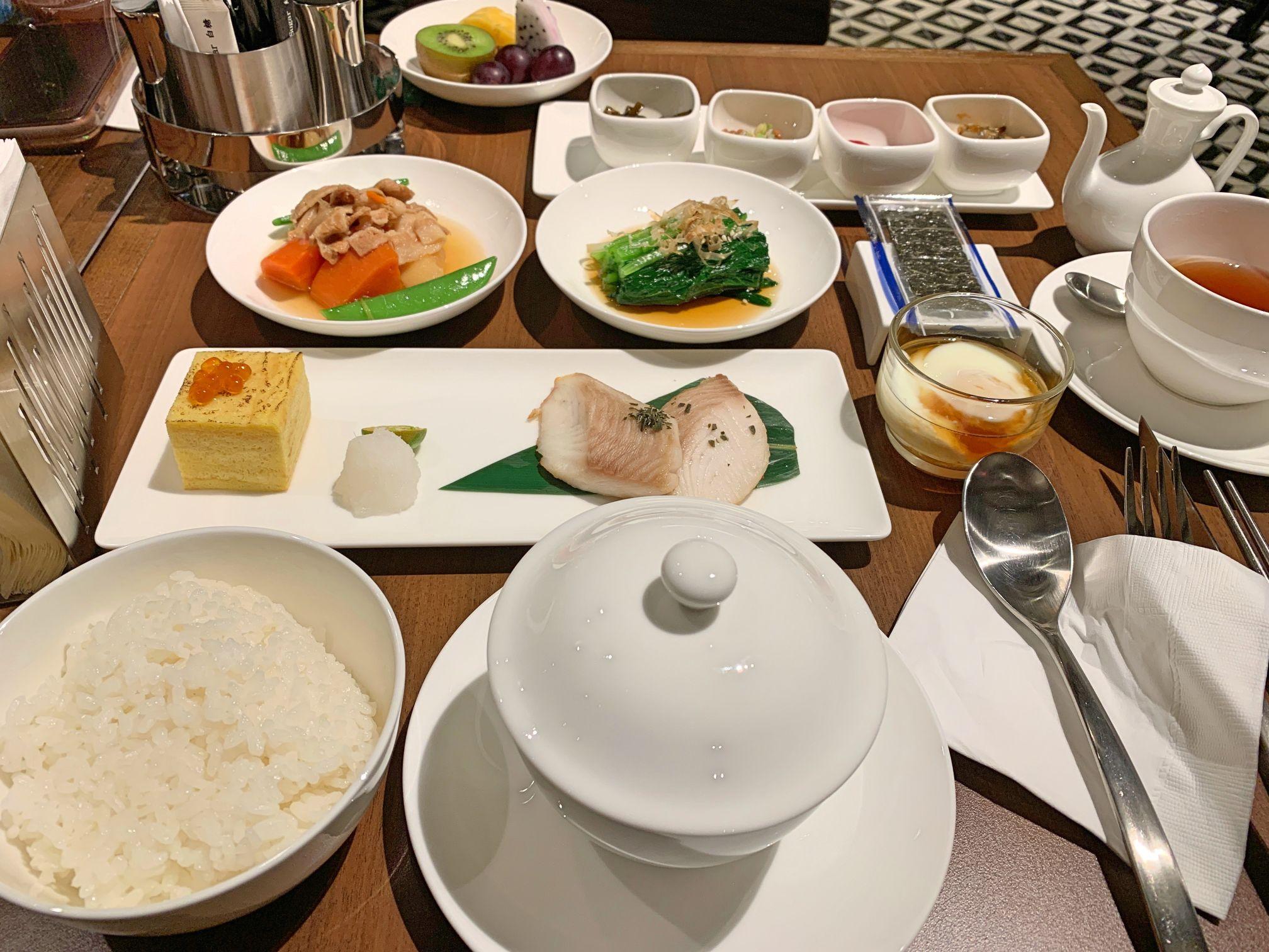 メトロポリタンプレミア台北の朝食